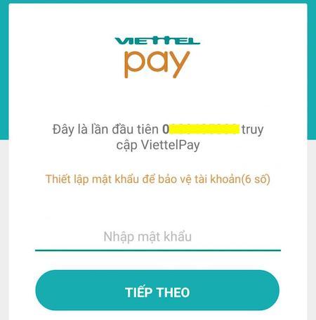 đăng ký viettel pay