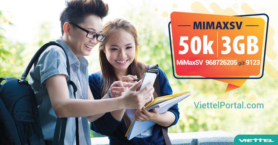 đăng ký 4G Viettel sinh viên