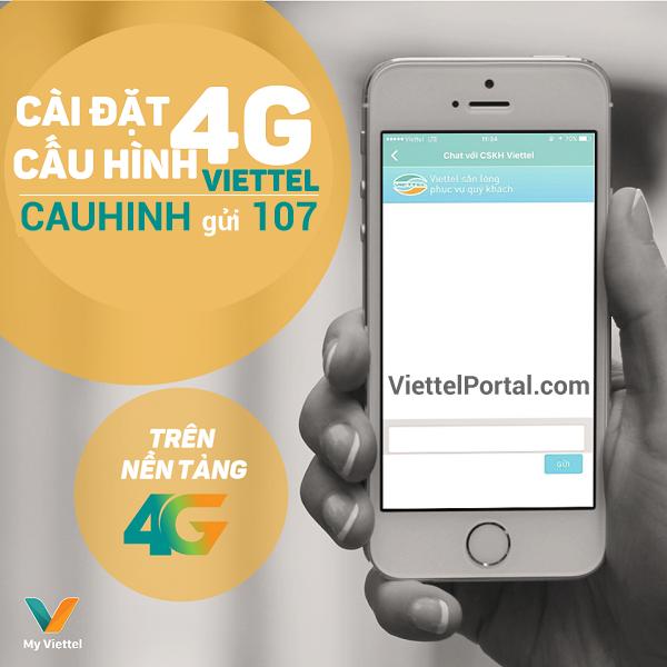 cài đặt 4G Viettel
