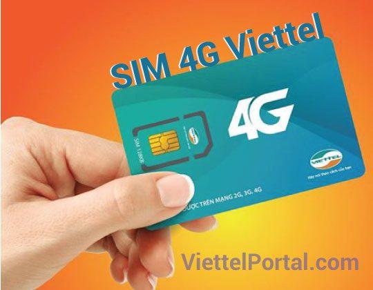 sim 4G Viettel