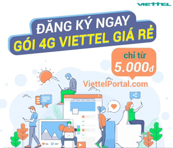 gói cước 4G Viettel rẻ nhất