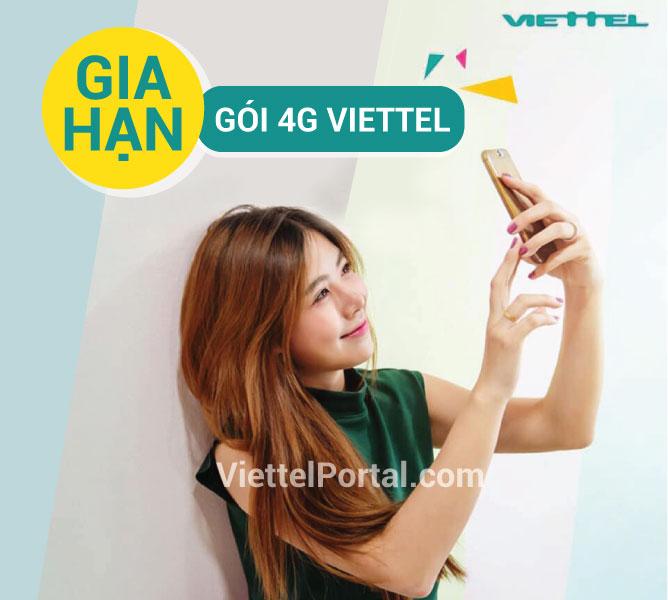 Gia hạn 4G Viettel