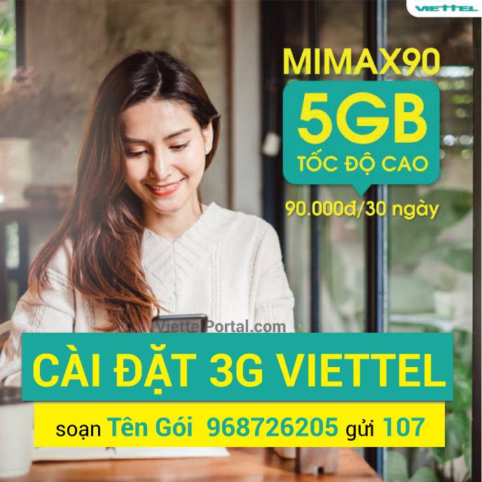 Cài 3G Viettel